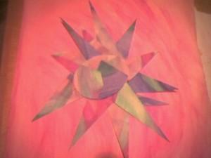 Watercolor Sun Collage -- Gina Lynette & Ned Andrew Solomon