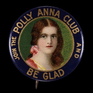 Polly Anna Club Button