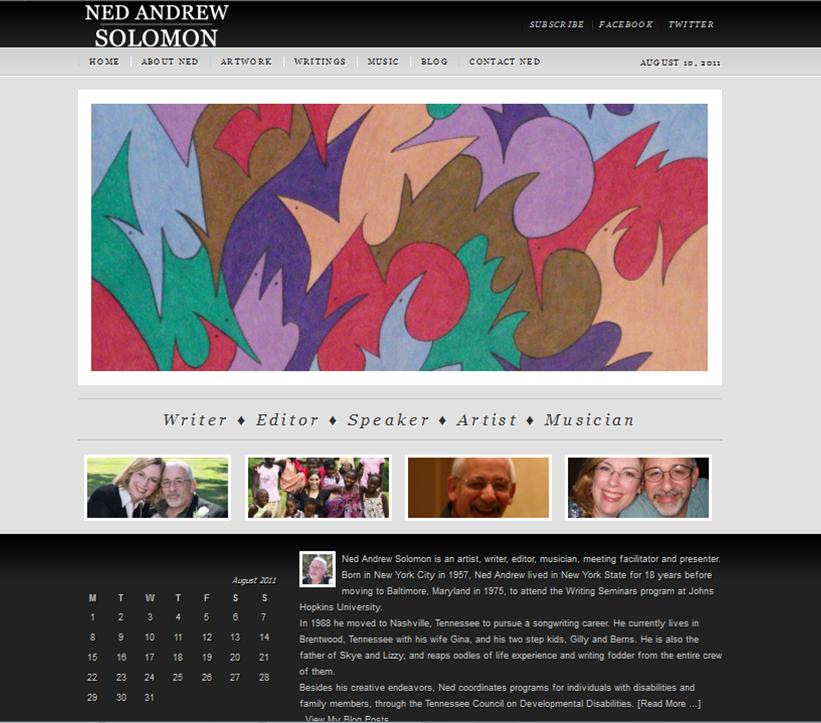 Ned Andrew Solomon online