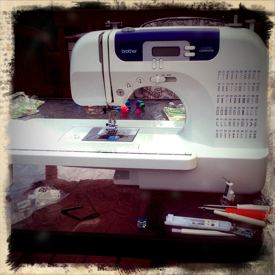 Newfangled Sewing Machine