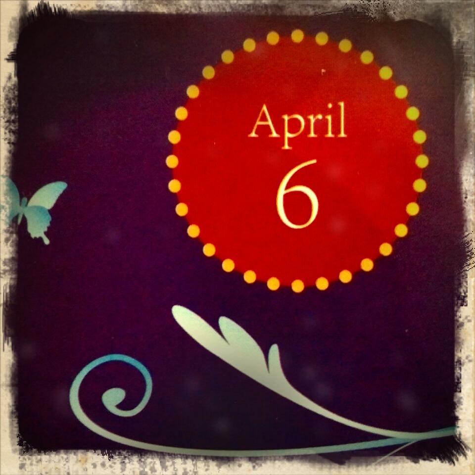 April 6